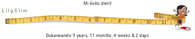 LilySlim Diet days tickers